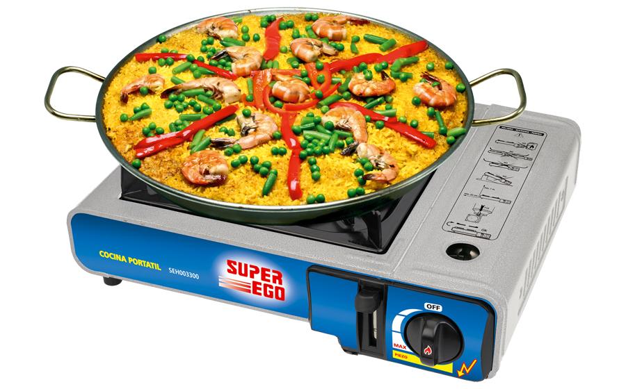 Super ego - Cocina portatil gas ...
